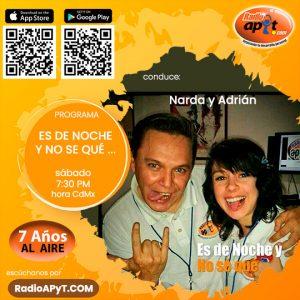 Programa-RadioAPyT-EsDeNocheYNoSeQue